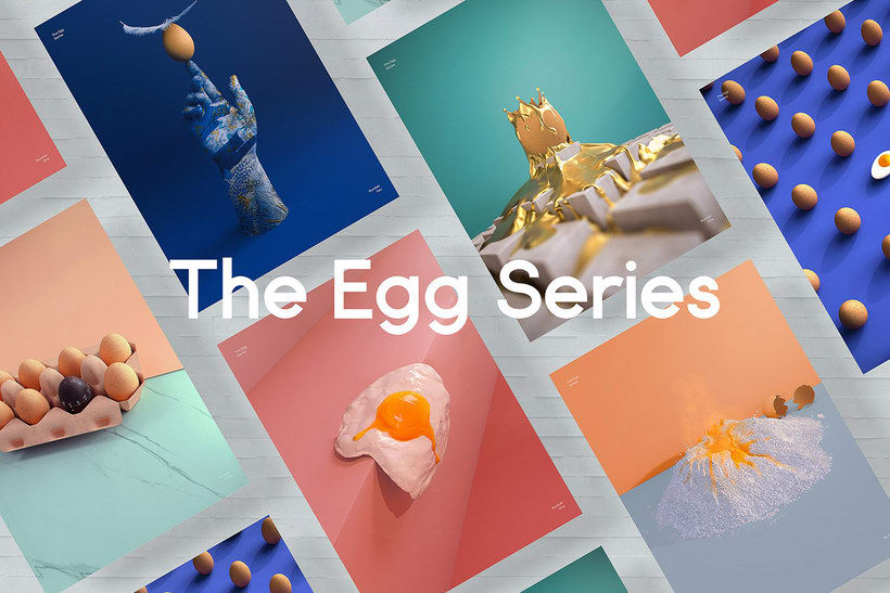 El huevo como musa del diseño 3D 1