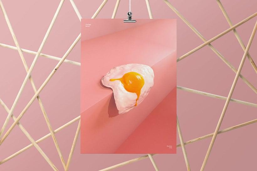 El huevo como musa del diseño 3D 3