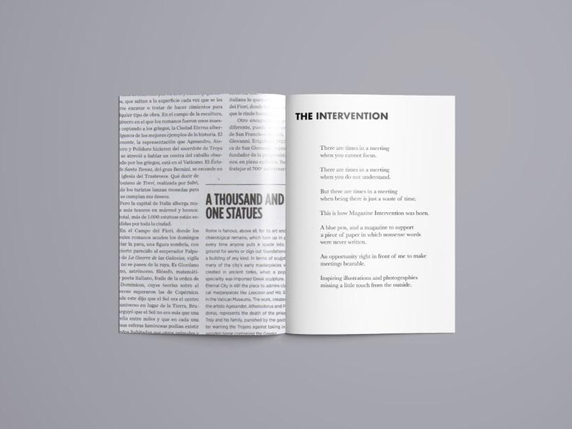 Magazine Intervention 1