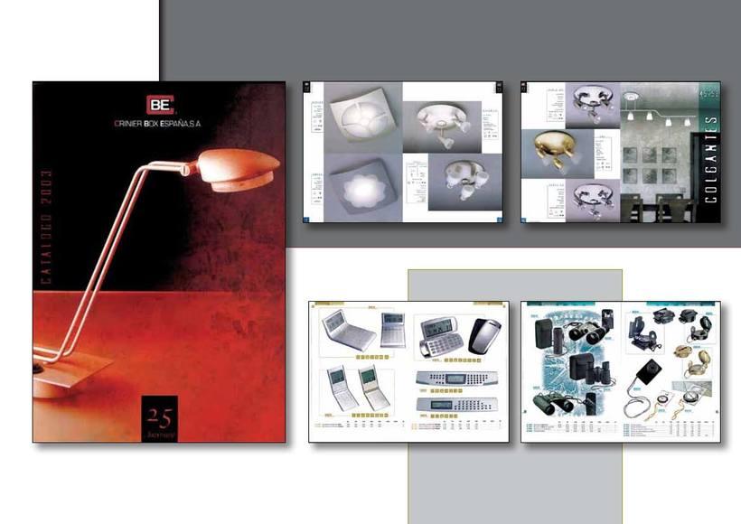 Catálogos varios de productos -1