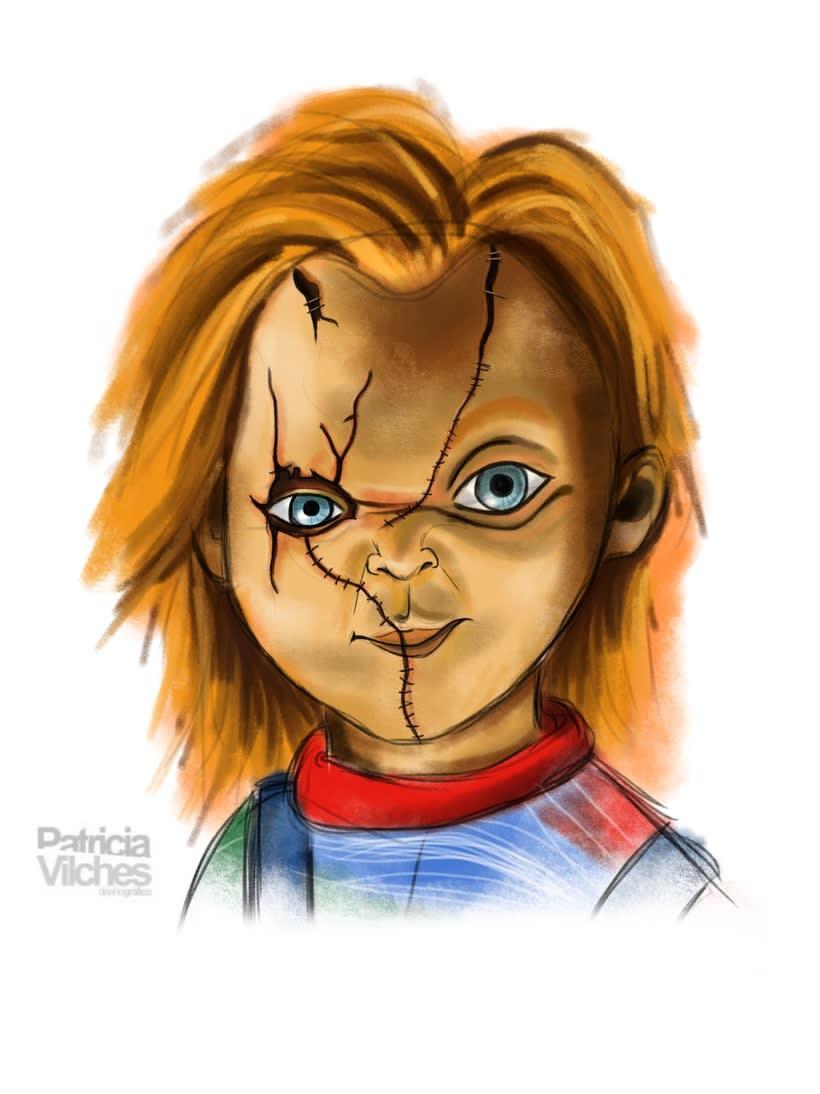 Ilustración Chucky 0