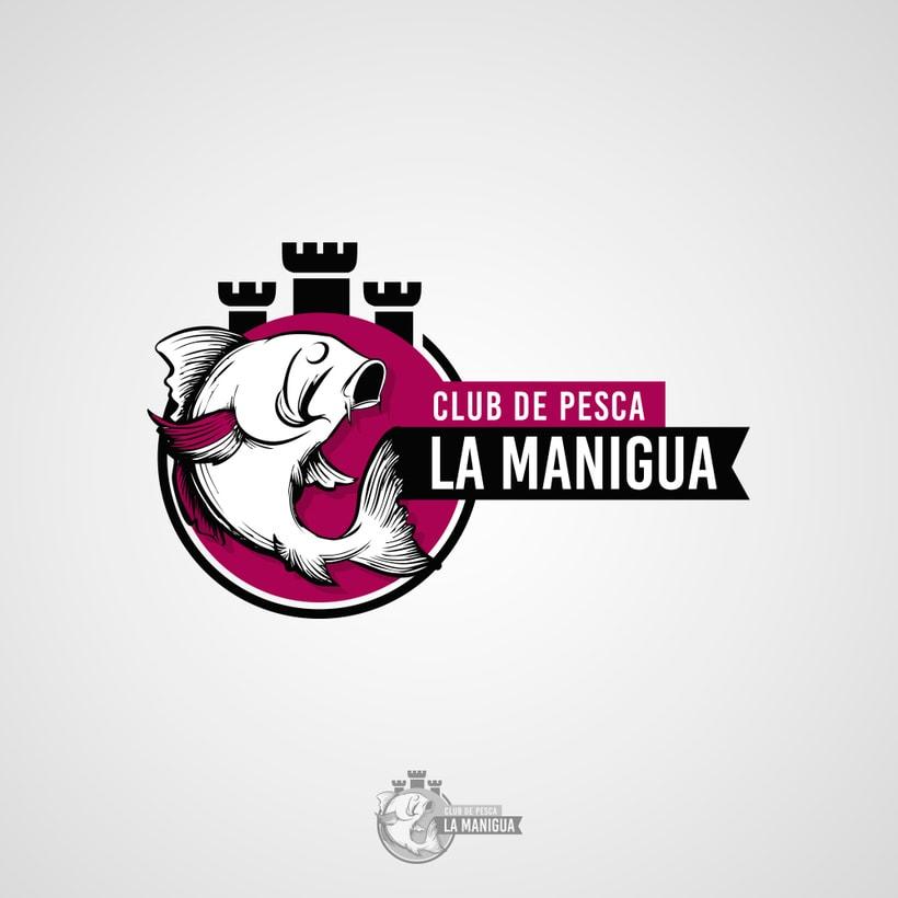 Logotipo Club de Pesca La Manigua 0