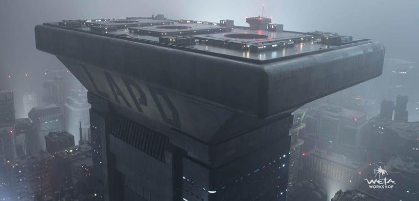 ¿Cómo se creó la ciudad de 'Blade Runner 2049'? 8