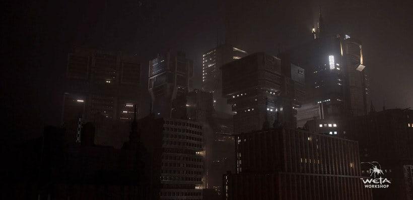 ¿Cómo se creó la ciudad de 'Blade Runner 2049'? 11