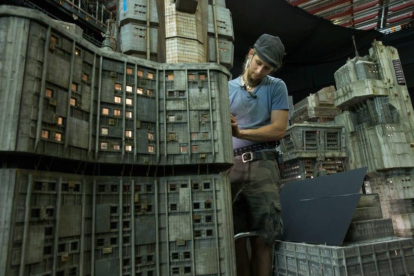 ¿Cómo se creó la ciudad de 'Blade Runner 2049'? 14