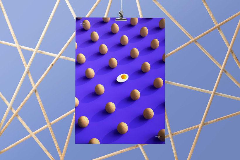 El huevo como musa del diseño 3D 9