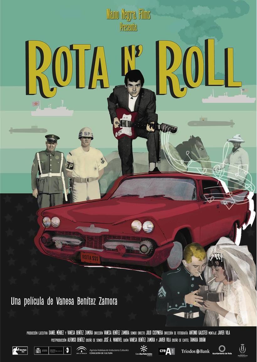 Cartel Documental Rota n´Roll 1