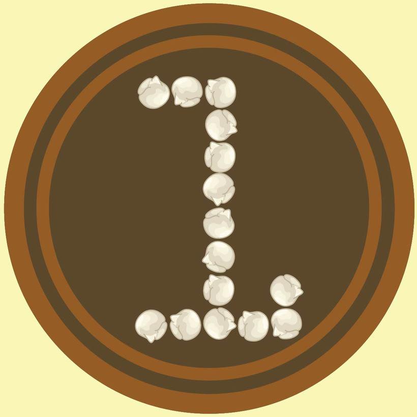 36 Days Of Type #04 - Alfabeto numérico 1