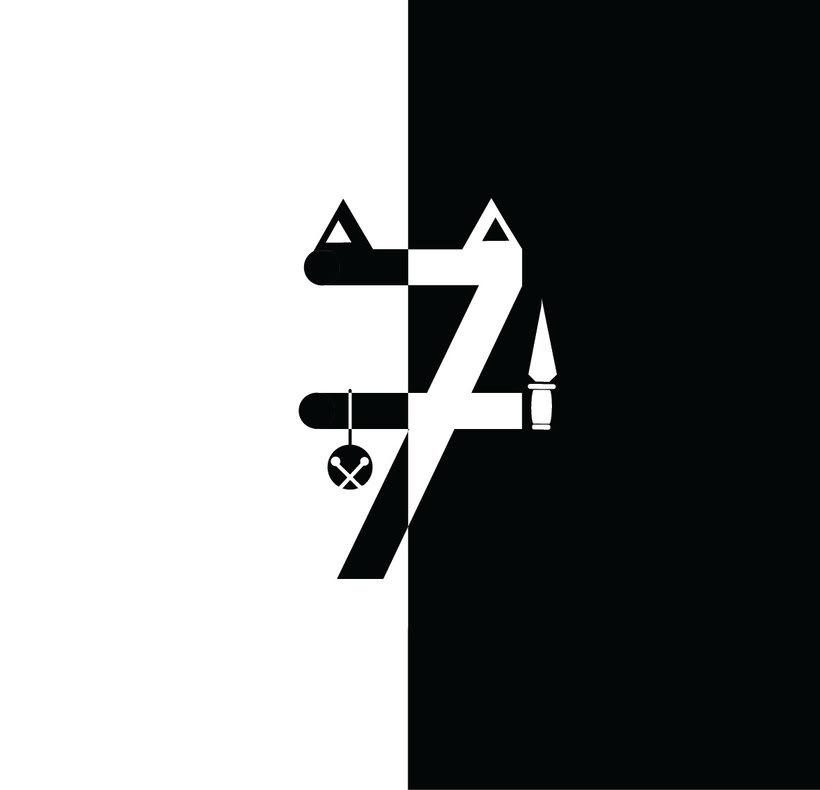36 Days Of Type #04 - Alfabeto numérico 6