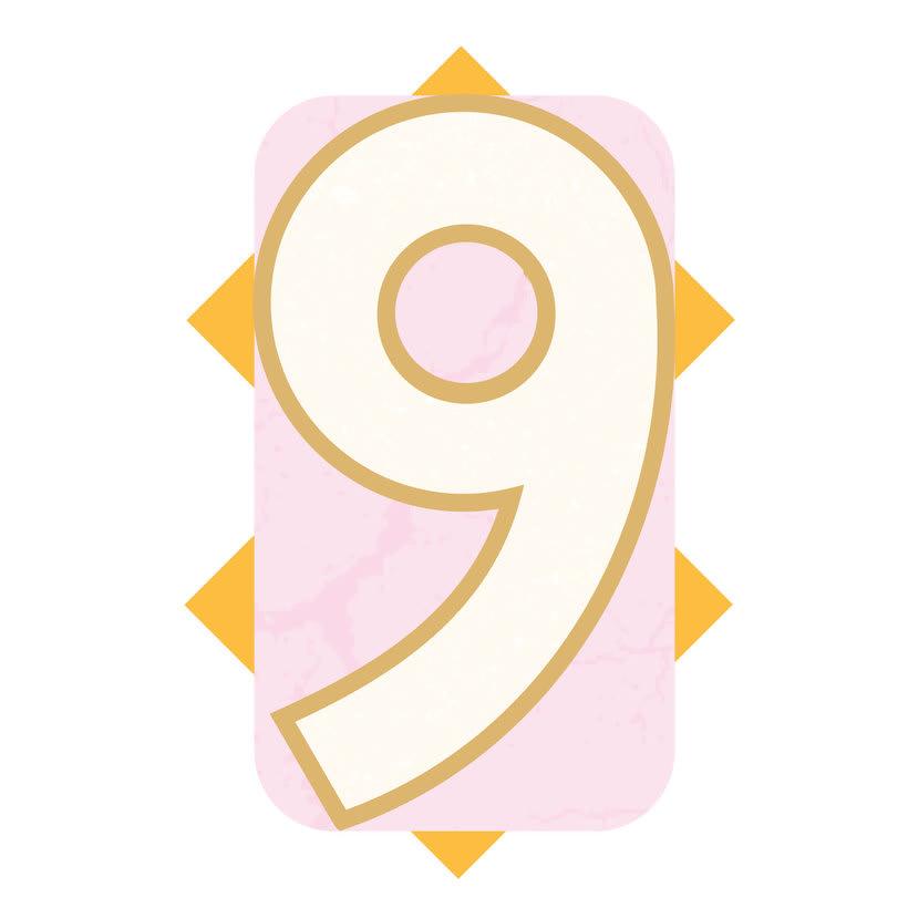 36 Days Of Type #04 - Alfabeto numérico 8