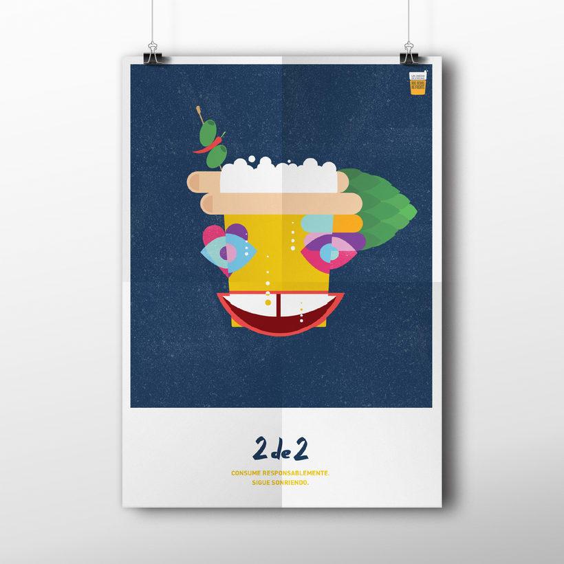 #UnDedoDeEspuma - Campaña Cervecear 2017 -1