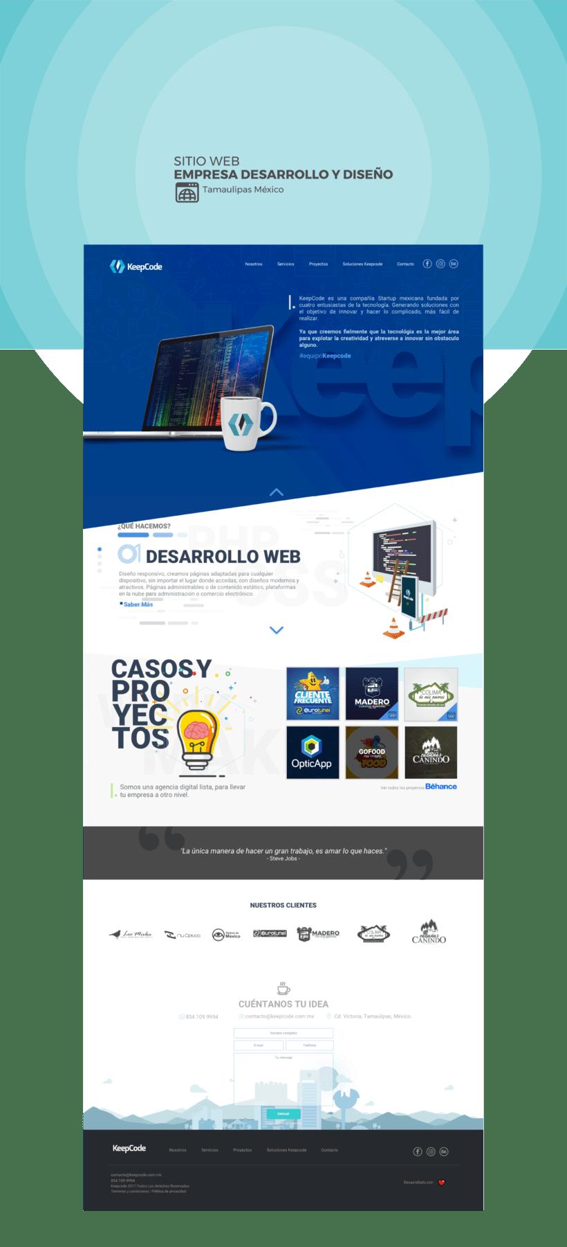 Diseño Web Keepcode -1