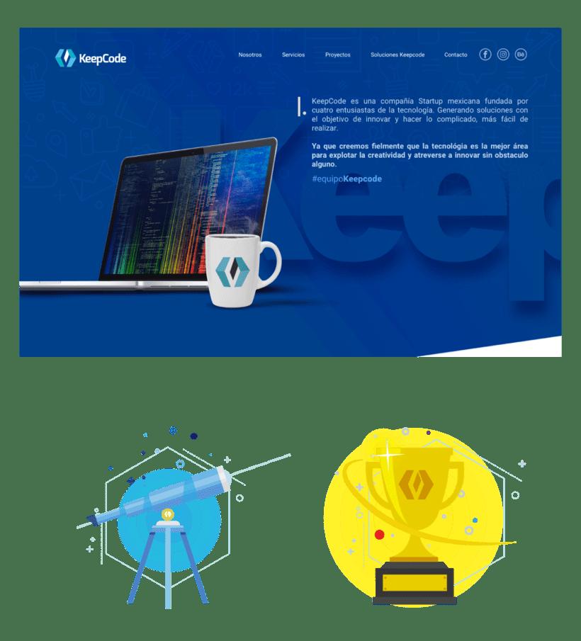 Diseño Web Keepcode 0