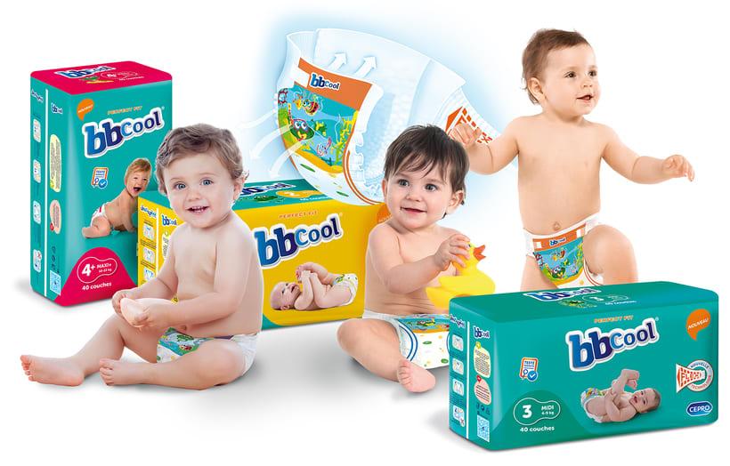 Diseños para marca de pañales BBCool 0