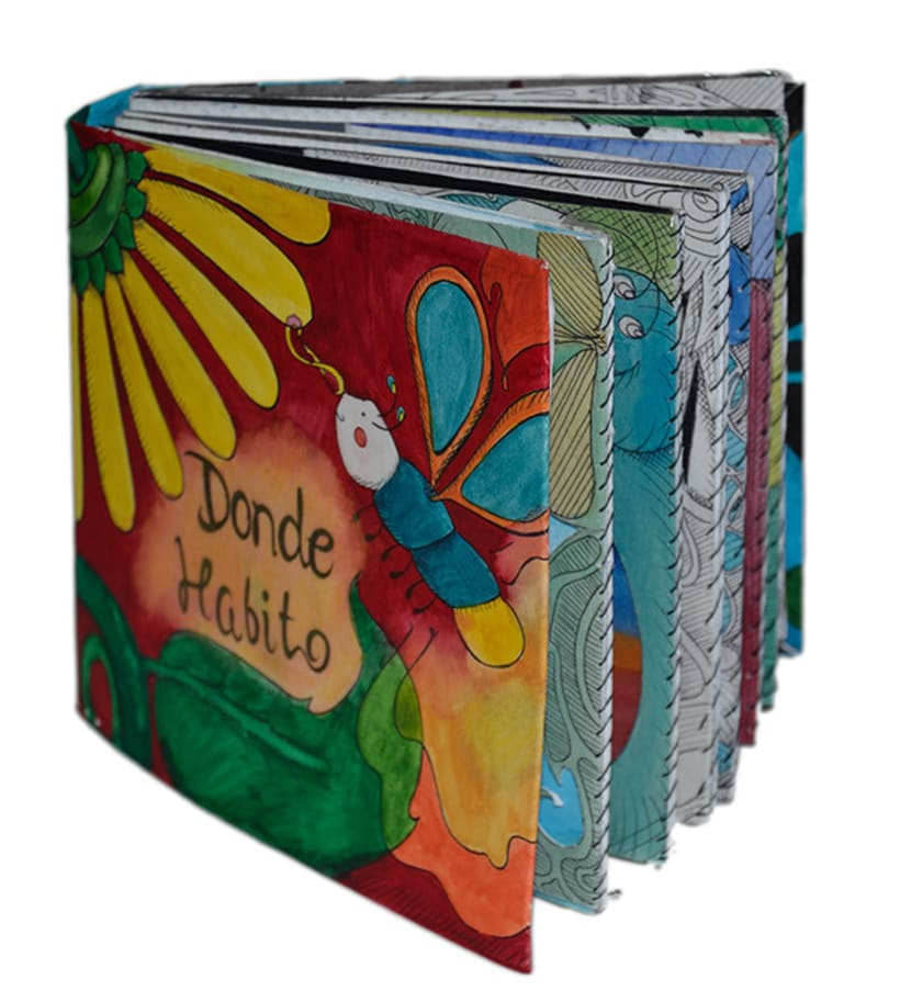 Donde Habito | Libro de ilustraciones pop-up 0