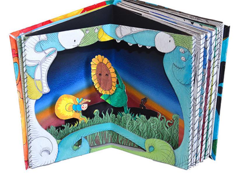 Donde Habito | Libro de ilustraciones pop-up 2
