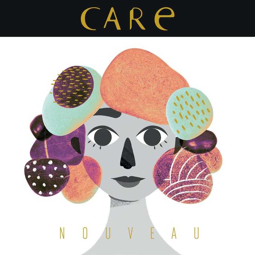 Care Nouveau - Wine Label 2