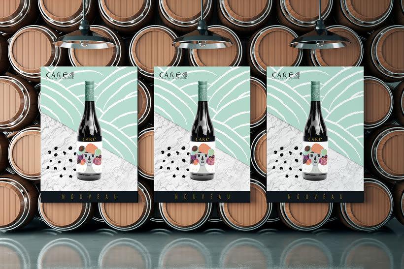 Care Nouveau - Wine Label 4