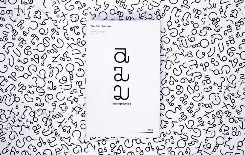 TypoGrAphiC, una tipografía basada en el ADN 1