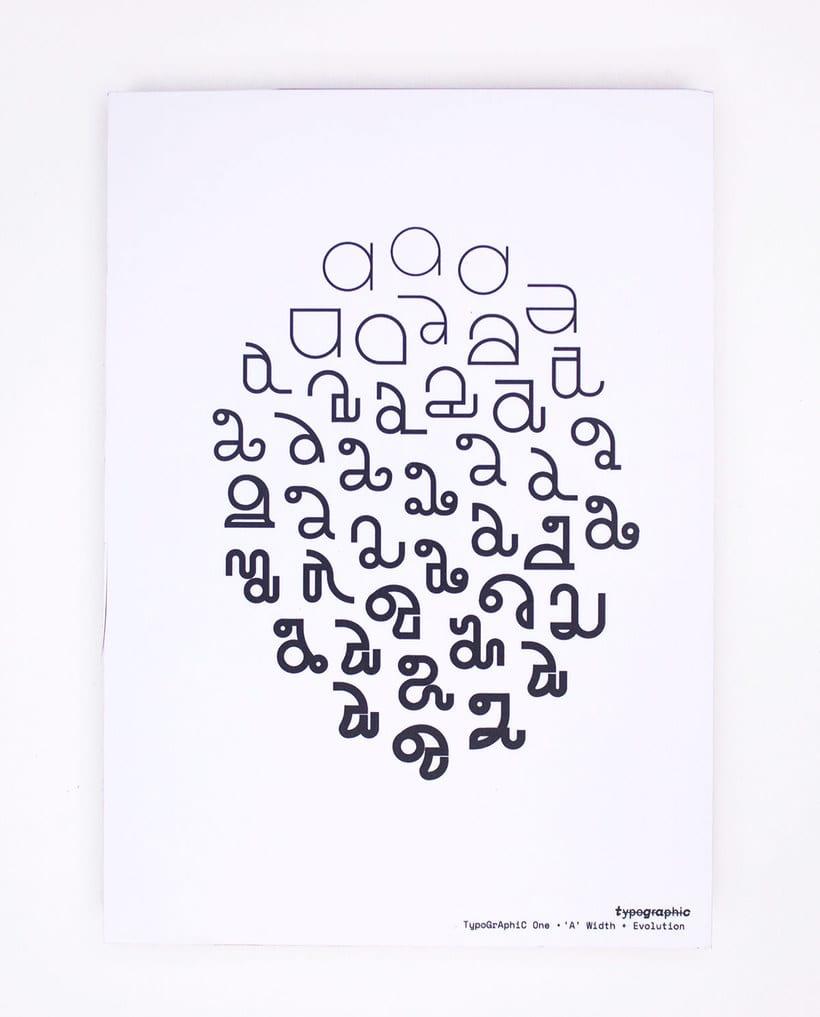 TypoGrAphiC, una tipografía basada en el ADN 3
