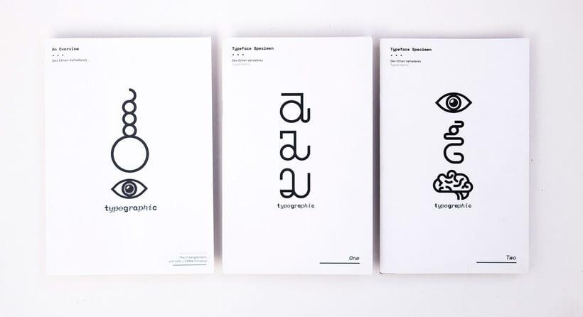 TypoGrAphiC, una tipografía basada en el ADN 7