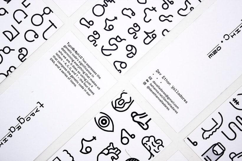 TypoGrAphiC, una tipografía basada en el ADN 14