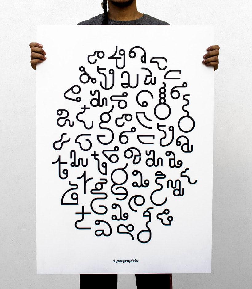 TypoGrAphiC, una tipografía basada en el ADN 15