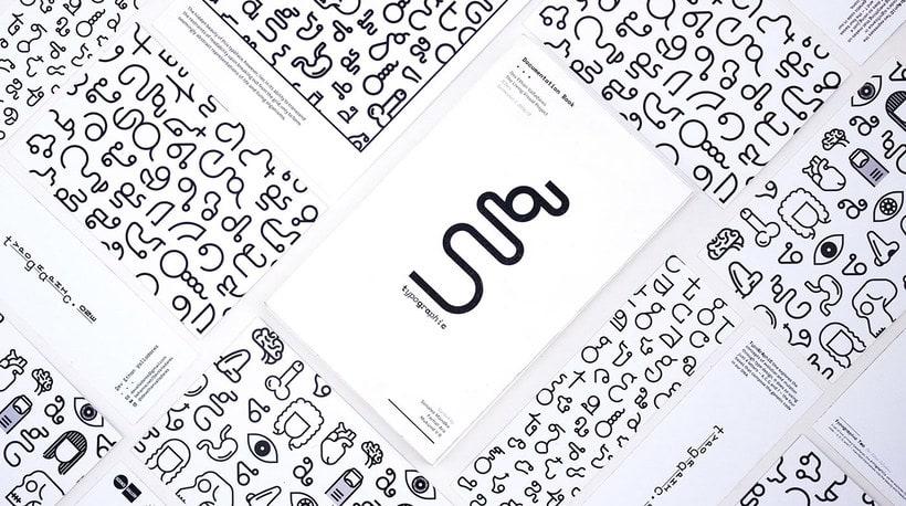 TypoGrAphiC, una tipografía basada en el ADN 16