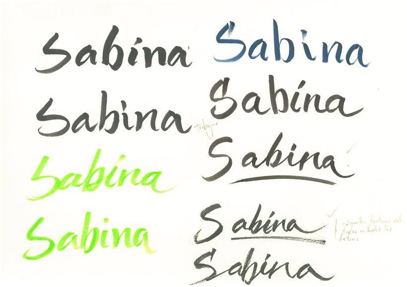 Portada del Disco 'SABINA' -1