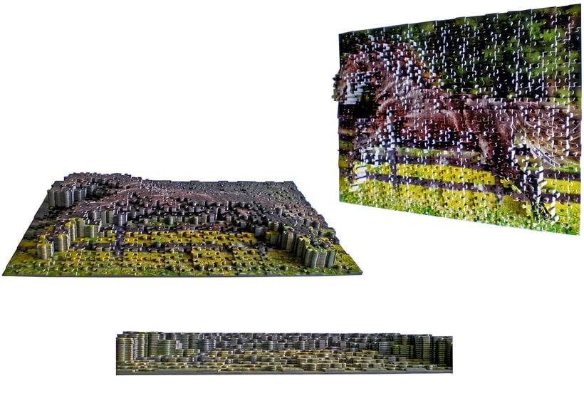 Puzzle 2D-3D -1