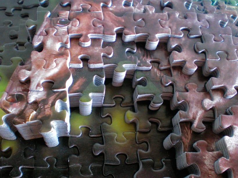 Puzzle 2D-3D 0