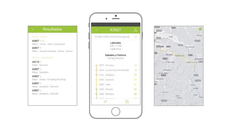Bizkaibus app 2