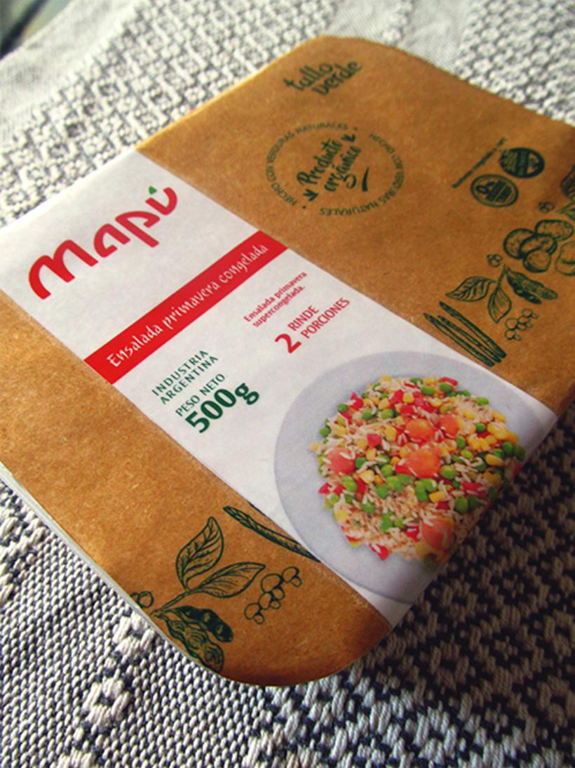 Mapú | Branding y Packaging 1