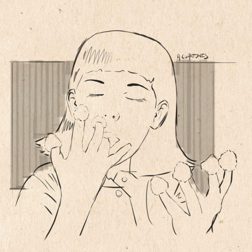 Ilustración Amélie Poulain 0
