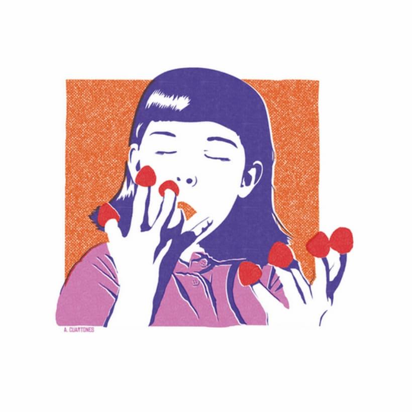 Ilustración Amélie Poulain 3