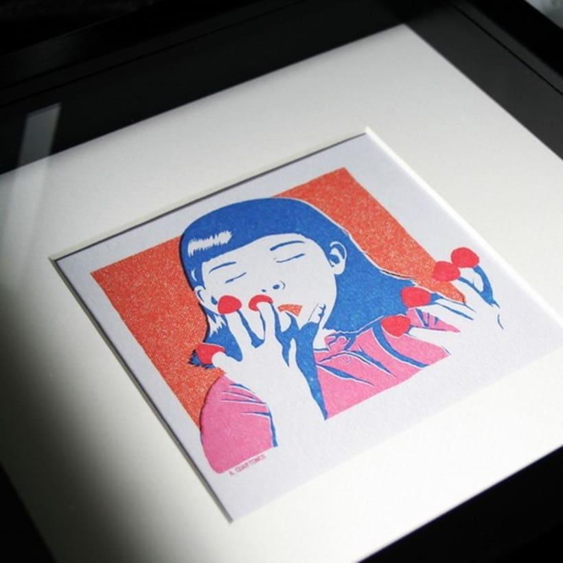 Ilustración Amélie Poulain 5