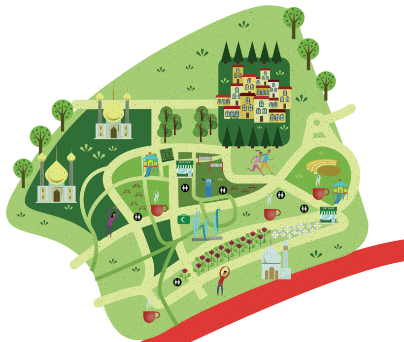 AL BIDDA PARK- MAP 0