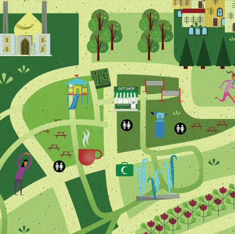 AL BIDDA PARK- MAP 1