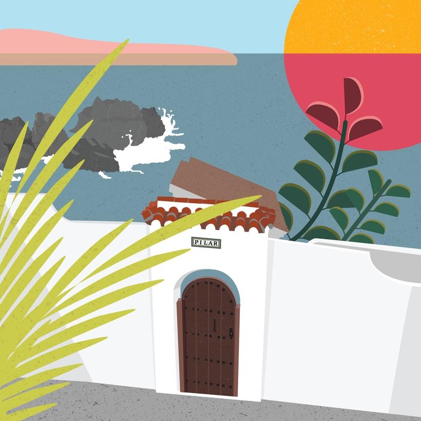 Sí tios, sitios - Serie ilustración -1