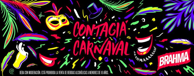 Brahma - Contagiá Carnaval 1