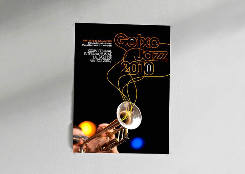 GETXO JAZZ propuesta concurso cartel y branding 0
