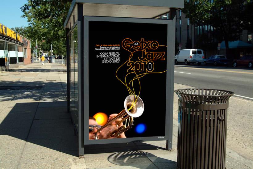 GETXO JAZZ propuesta concurso cartel y branding 2
