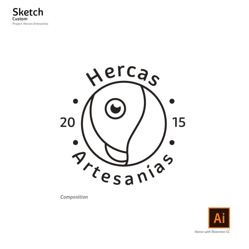 logotipo Hercas Artesanías 4
