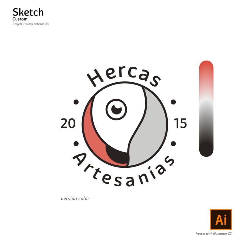 logotipo Hercas Artesanías 5