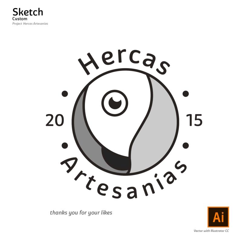 logotipo Hercas Artesanías 6