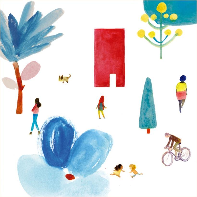 Ilustración portada revista Kireei 3