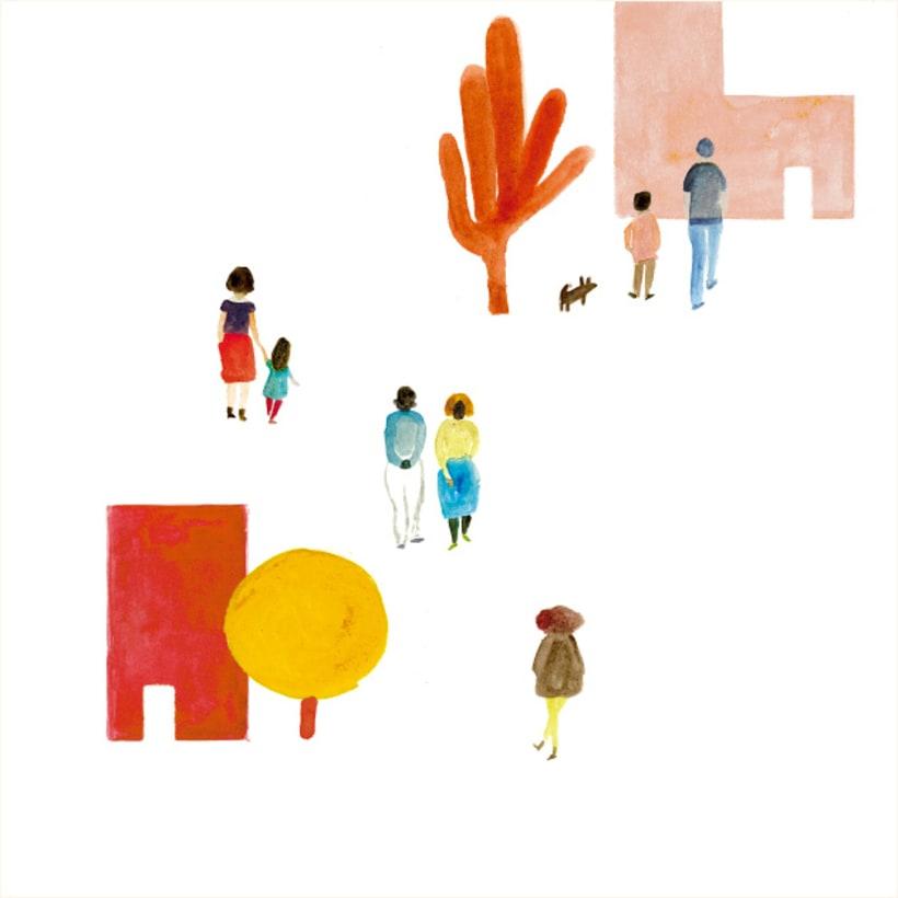 Ilustración portada revista Kireei 4
