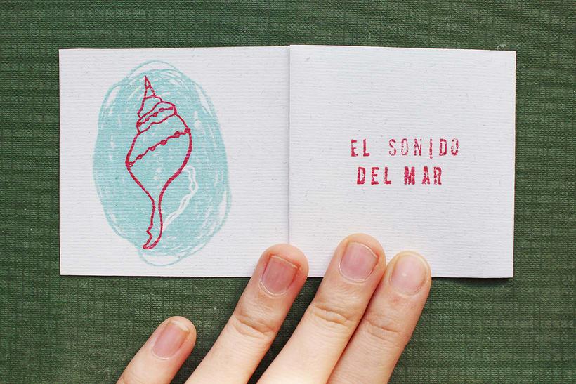 """Libro de artista: """"Te regalo"""" 2"""