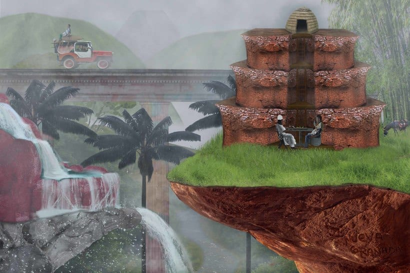 """Matte Painting """"Colombia"""" -1"""