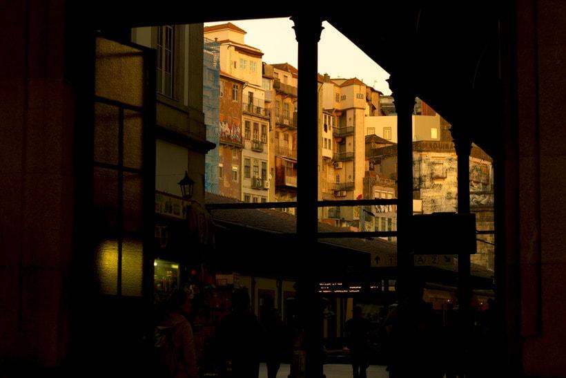 Oporto sunset -1